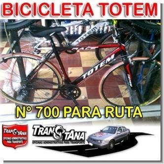 Lee el articulo completo Bicicleta de Ruta numero 700