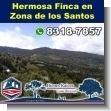 Desarrollador, esta finca es tu oportunidad para turismo o produccion en Zona de los Santos