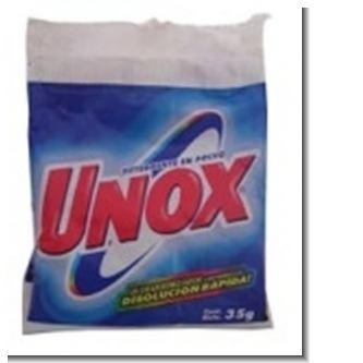 Lee el articulo completo DETERGENTE UNOX 35 GRAMOS