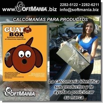 Lee el articulo completo Adhesivos y calcomanias para identificar y marcar sus productos