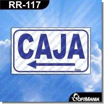 Lee el articulo completo Rotulo Prefabricado - CAJA FLECHA IZQUIERDA